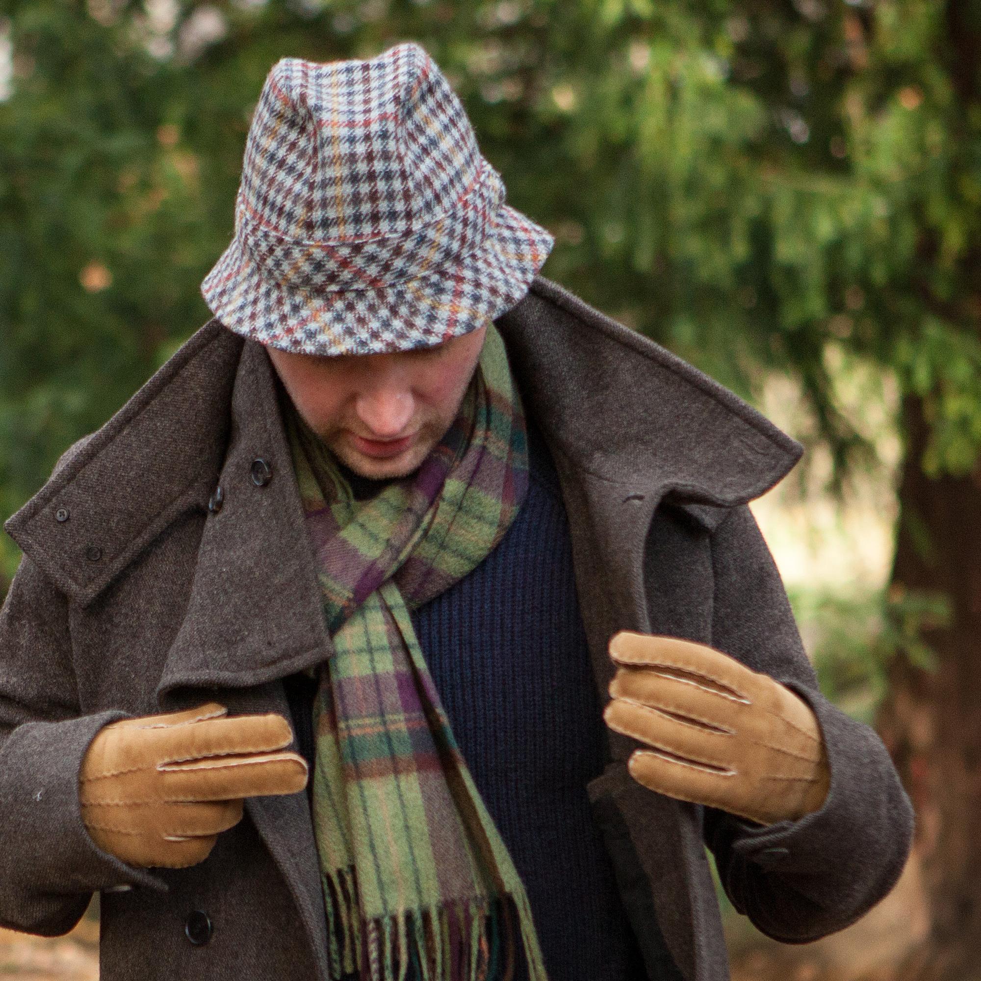 725096dd1 Trilby Tweed Hat