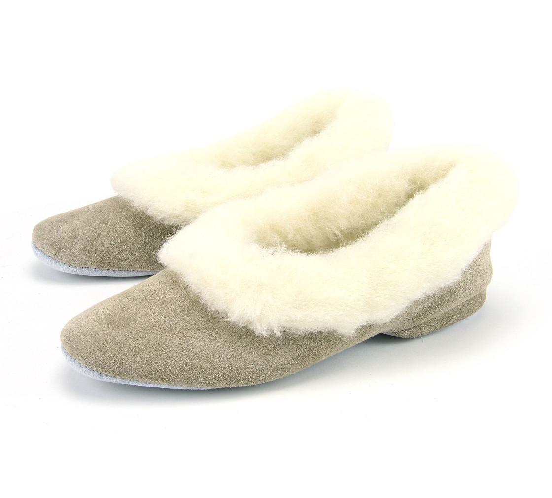 341501b8a62 Ladies Full Collar Heeled Slipper
