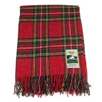 Royal Stewart Wool Throw