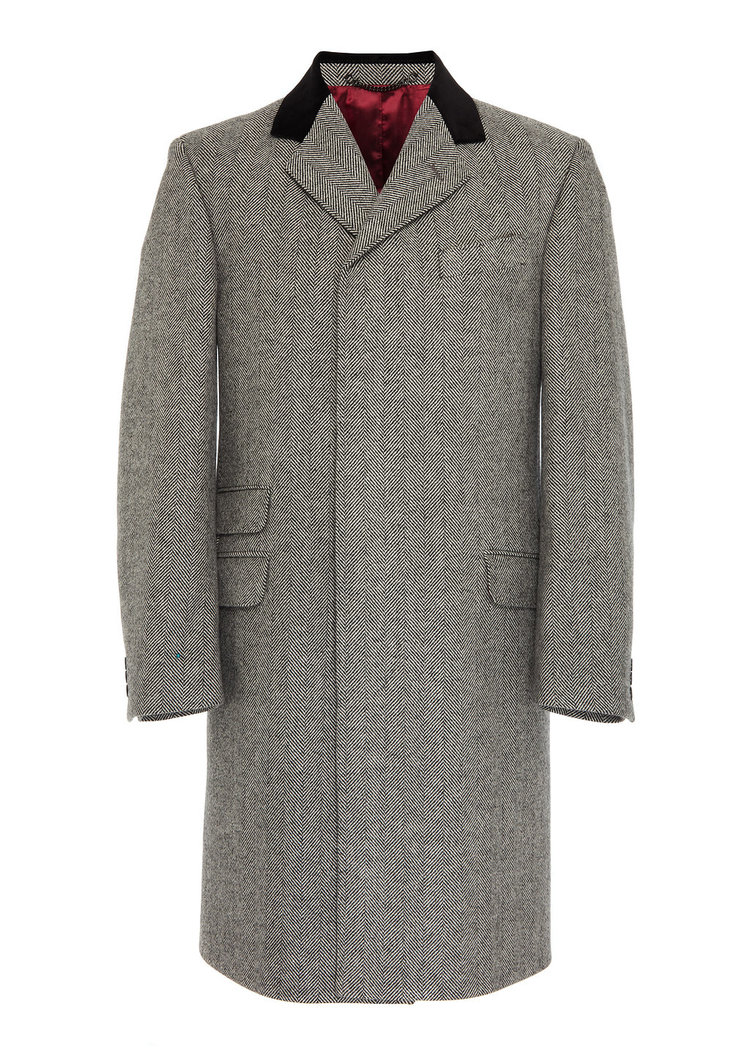Osso London British Wool Overcoat