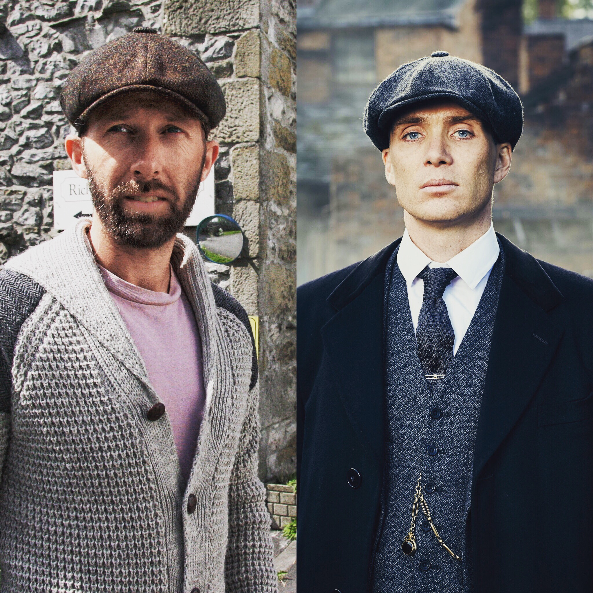 Glencroft Peaky cap and Tommy Shelby