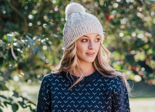 blog bobble hat
