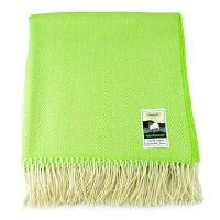 KB plain lambswool brightlimegreen