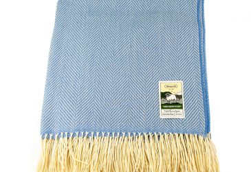 KB plain lambswool cornflowerblue