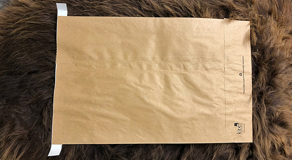 Brand new paper mailing bag