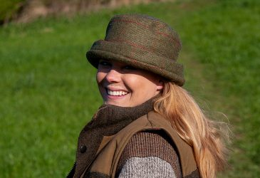 Teflon Coated Tweed Glencroft Cloche Hat