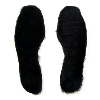 FB sheepskin insole black top
