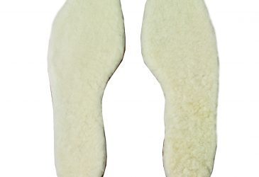 FB sheepskin insole white bomtex top
