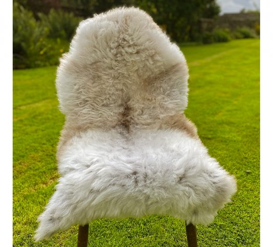 FB soft curly woolly chair