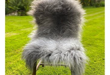 FB grey thick chair