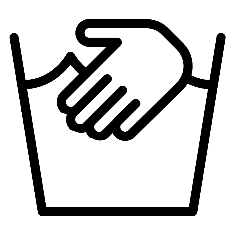 Hand Wash Laundry Symbol