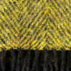 Mustard / Black Herringbone