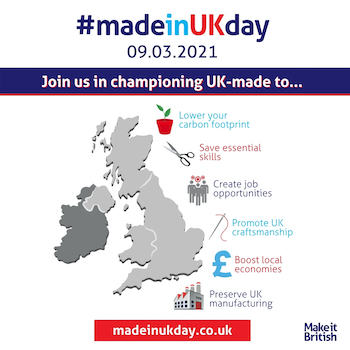 Made in UK Day Blog Post Feature Image